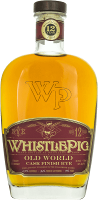 WHISTLE PIG - OLD WORLD - CASK FINISH RYE - 12 ANS